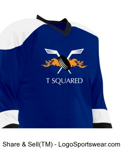 T Squared REVERSIBLE Hockey Jersey Design Zoom