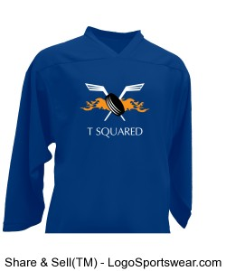 TSquared Lightweight Non-Reversible (Away Blue) Design Zoom
