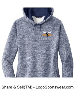 Sport-Tek Electric Heather Fleece Pullover Design Zoom